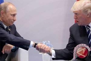 Trump tekan Putin soal keterlibatan Rusia pada pilpres AS