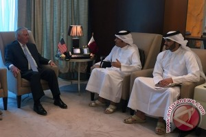AS-Qatar tanda tangani kesepakatan perangi terorisme