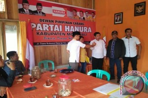 Politisi Nasdem Gabung Hanura Pencalonan Bupati Morowali