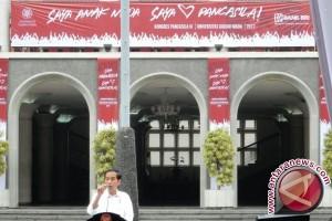 Presiden Jokowi hadiri Kongres Pancasila ke-9 di UGM