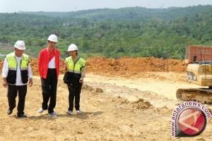 Presiden tinjau pembangunan tol Pekanbaru-Dumai