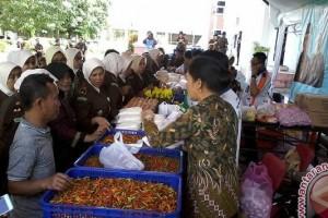 Kejaksaan Sulteng Gelar Pasar Murah