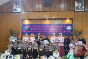 Pertamina Bantu TK Bhayangkari Donggala