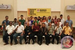 Bamag Kota Palu dukung Gerakan Moral Anti Korupsi