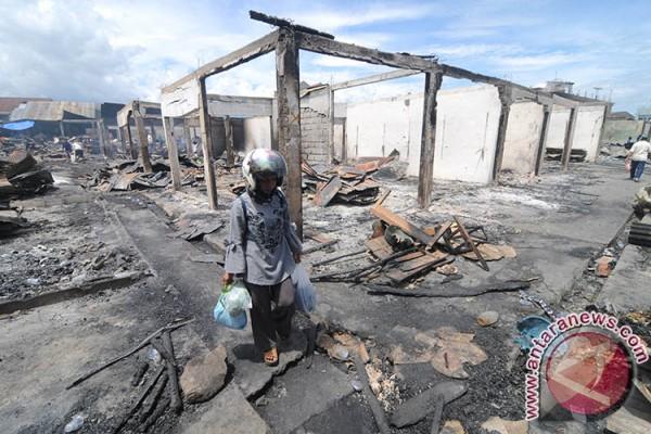Pemkot Data Pedagang Korban Kebakaran Pasar Masomba