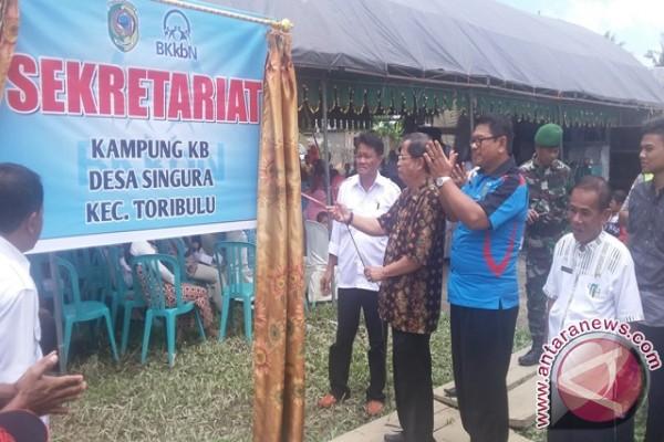 21 kecamatan di Parimo sudah canangkan 'Kampung KB'