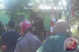 Asrama Kodim Tolitoli terbakar