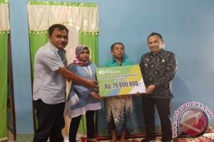Karyawan PT. Olam Indonesia terima santunan BPJS Ketenagakerjaan Rp79,8 juta