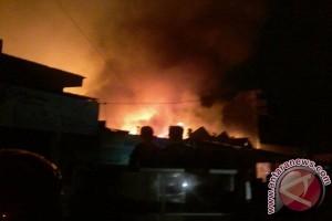 Pasar Masomba Palu Kembali Terbakar