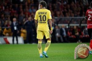 Neymar debut, PSG terkam Guingamp 3-0
