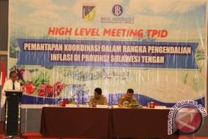Gubernur Sulteng apresiasi TPID kendalikan harga pangan