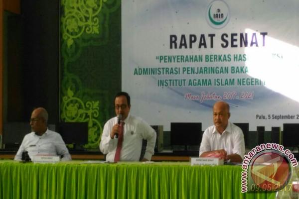 Petahana Serahkan Berkas Calon Rektor Ke Senat