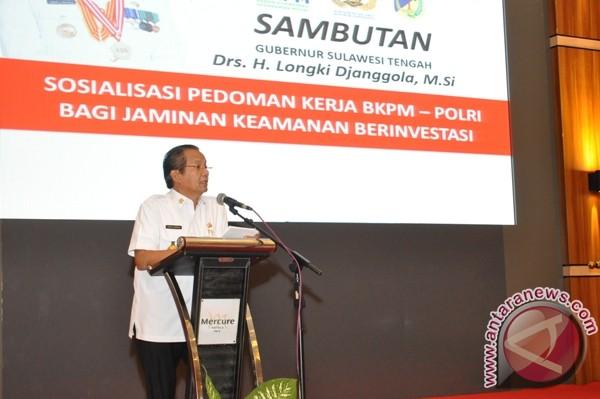 Gubernur: Realisasi Investasi Di Sulteng Rp14,2 Triliun