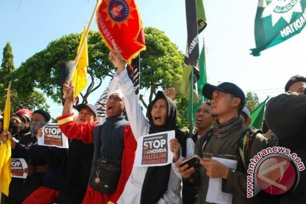 Majelis Agama Budha Sulteng Kutuk Rezim Myanmar