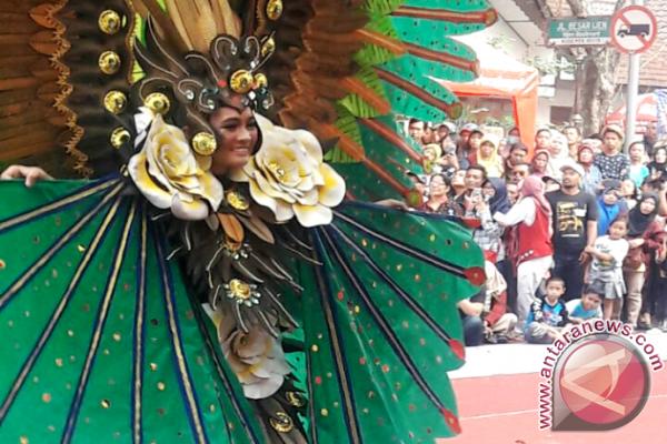 Parigi Moutong masuk Tiga Terbaik di Malang Flower Carnival