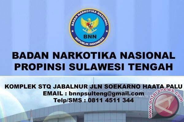 Tiga Pejabat BNNP Sulteng Serah Terima Jabatan