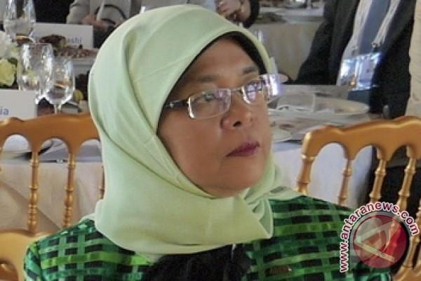Presiden wanita pertama Singapura resmi terpilih