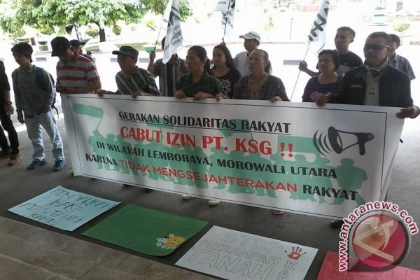 Petani Morowali Utara Tuntut KSG Kembalikan Lahan