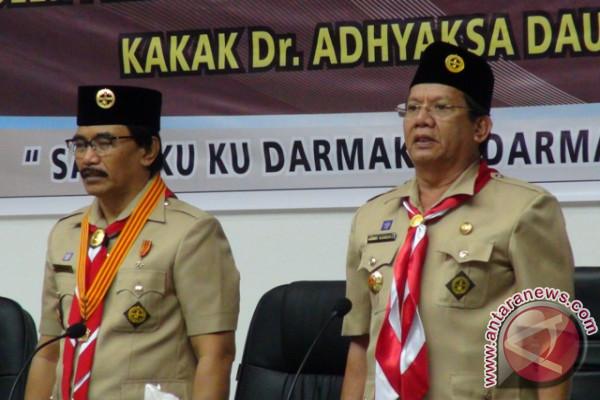 Gubernur Minta Pramuka Digaungkan Kembali