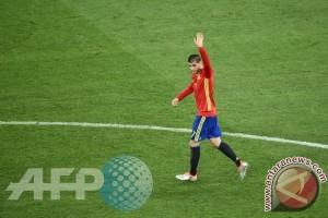 Spanyol pesta gol 8-0 di Liechtenstein, Morata dua gol