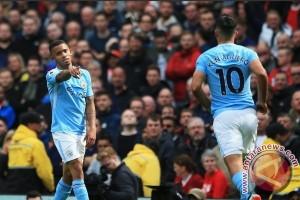 Manchester City hancurkan Liverpool 5-0