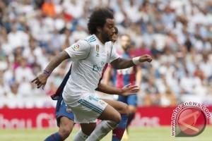 Tanpa Ronaldo, Real Madrid ditahan Levante 1-1
