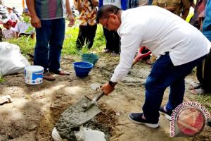 Warga Karya Mandiri Parimo segera miliki jembatan gantung