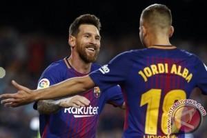 """Sihir"" empat gol Messi antar Barcelona gusur Eibar"