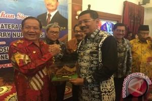 Longki dan gubernur se-Indonesia bahas pengentasan kemiskinan di Medan