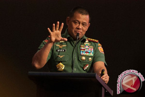 Pernyataan panglima TNI bukan konsumsi publik