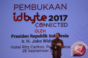 Presiden Jokowi buka konferensi Idbyte 2017