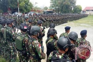 540 Personel Brimob Polri Dikerahkan Ke Poso