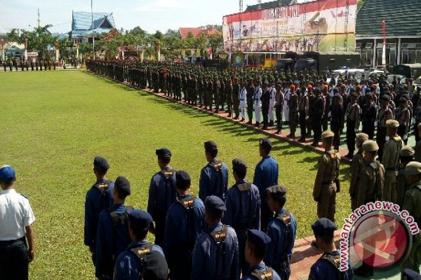 HUT TNI di Poso Meriah