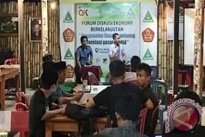 OJK - Ansor Dorong Pemuda Mengenal Pasar Modal