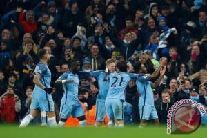 City hanya butuh empat kemenangan juarai Liga Inggris