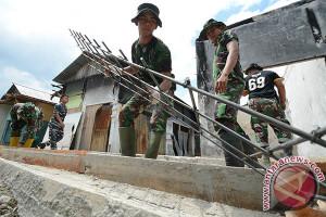 Irjen TNI-AD tinjau kegiatan TMMD di Kota Palu