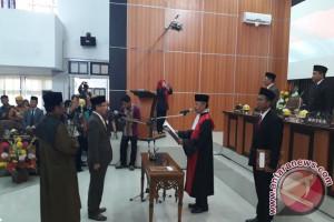 Paripurna Pelantikan Ketua DPRD Palu Dimulai
