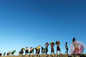 Pengungsi Rohingya masih mengalir ke Bangladesh