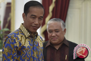 Din temui Presiden bahas pengunduran utusan khusus
