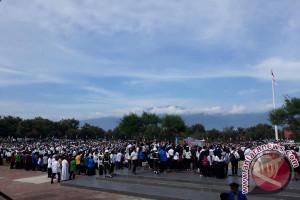 Puluhan Ribu Mahasiswa Sulteng Deklarasi Anti-Radikalisme