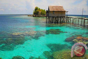 Togean salah satu tujuan liburan warga Palu