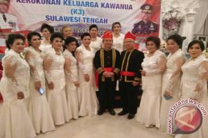Loddy Surentu pimpin Kerukunan Keluarga Kawanua Sulteng