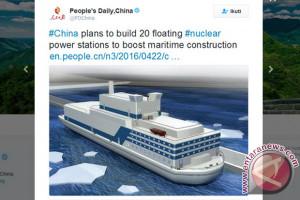 Kapal listrik berkapasitas 2.000 ton meluncur di Guangzhou