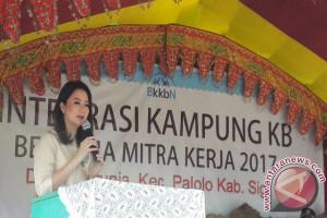 Verna Inkiriwang: Kampung KB untuk sejahterakan masyarakat