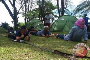 Serunya nginap dan outbond di Rakata Tanakita Sukabumi