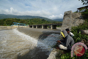 Jaringan irigasi di Sigi hancur diterjang gempa
