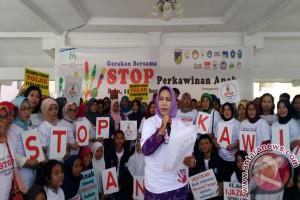 Pemrpov Sulteng Kampanyekan Stop Perkawinan Anak
