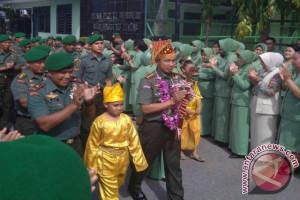 Korem 132/Tadulako Palu resmi miliki komandan yang baru