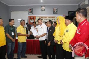 Wakil Bupati Donggala Resmi Mendaftar Ke KPU