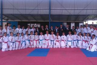 34 karateka Sulteng ikut Pelatda hadapi Kejurnas Karate 2018